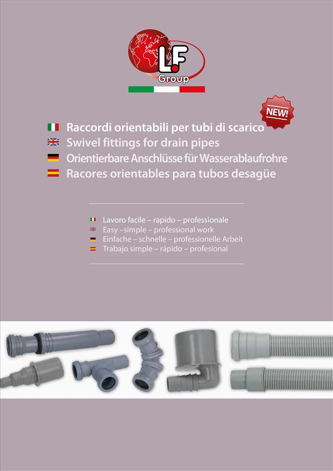 Swivel fittings for drain pipes 04/2017