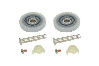 Castors, rollers and accessories