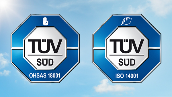 LF achieves TÜV Safety and Environment certifications
