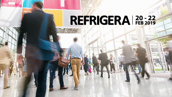 LF exhibiting at the Refrigera Show 2019